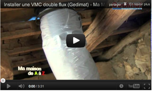 Installer une vmc double flux mega tuto tous les for Transformer vmc simple flux en double flux