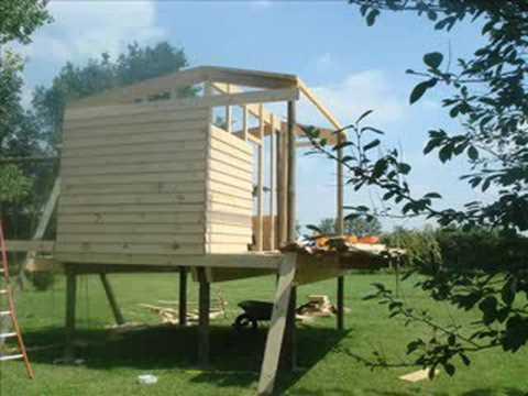 Fabriquer une cabane de jardin le tutoriel mega tuto - Construire une cabane avec des palettes ...