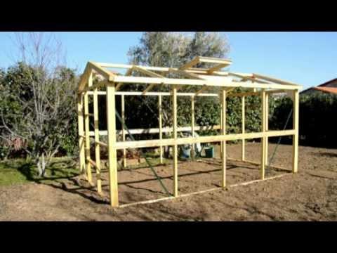 comment construire une serre de jardin moderne pour conomiser sur l achat mega tuto tous. Black Bedroom Furniture Sets. Home Design Ideas