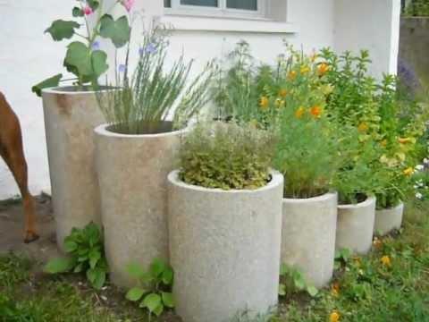 D coration de jardin avec du mat riel de recup ration 100 gratuit mega tuto tous les - Mega jardines de olarizu ...