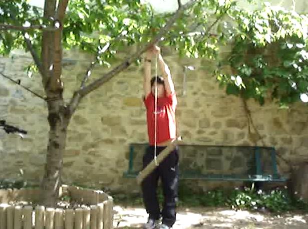 Fabriquer une balan oire de jardin pour moins de 5 euros for Bricolage jardin