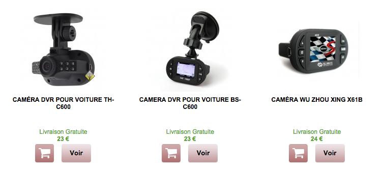 Trouver Une Caméra DVR de Sécurité Pas Cher pour Sa Voiture