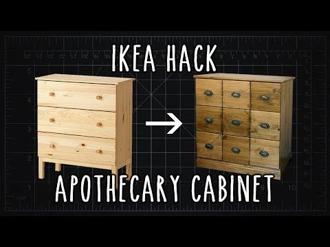 Fabriquer un meuble de m tier ou d 39 apothicaire partir du for Cirer ou vernir un meuble