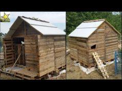 R cup ration de palette fabriquer une niche pour le - Comment construire une niche pour chien gratuit ...