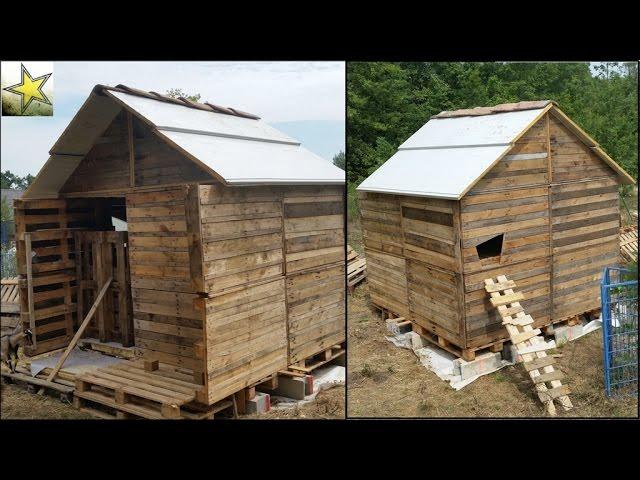 Fabriquer une cabane en bois avec des palettes for Construire sa maison en palette