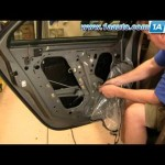 How To Install Replace Rear Door panel Cadillac CTS 03-07 1AAuto.com