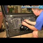 How To Install Replace Broken Side Rear View Mirror Cadillac CTS 03-07 1AAuto.com